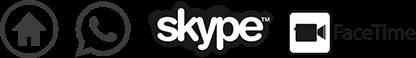 Formations : bureaux, par tél., Skype et FaceTime